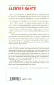 Alertes sante - experts et citoyens face aux interets prives - Couverture - Format classique