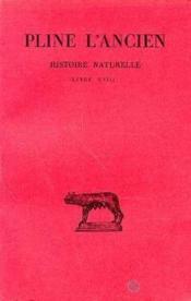 Histoire naturelle L18 - Couverture - Format classique