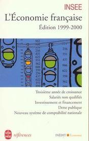 L'Economie Francaise - Edition 1999-2000 - Intérieur - Format classique