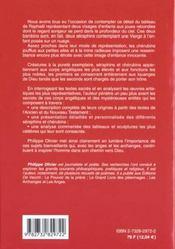 Seraphins Et Les Cherubins (Les) - 4ème de couverture - Format classique