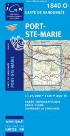 Port Ste-Marie - Couverture - Format classique