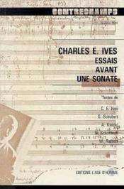 Q7 Charles Ives:Essais Avant Sonate - Couverture - Format classique