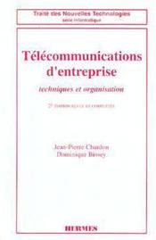 Telecommunications d'entreprise - Couverture - Format classique
