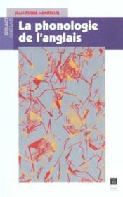 Phonologie de l anglais - Couverture - Format classique