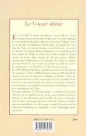 Le Voyage Ultime - 4ème de couverture - Format classique