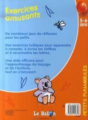 Petits Funambules ; Exercices Amusants - 4ème de couverture - Format classique