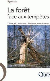 La forêt face aux tempêtes - Couverture - Format classique