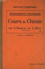 Nouveaux Prohgrammes - Enseignement Secondaire - Cours De Chimie - Classe De Premiere - Couverture - Format classique