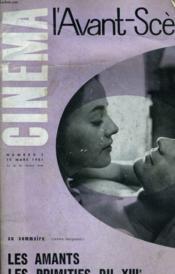 L'AVANT-SCENE CINEMA N°2 - LES AMANTS - LES PRIMITIF DU XIIIe - X. Y. Z. ... - Couverture - Format classique