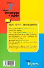 Economie 2e - 4ème de couverture - Format classique