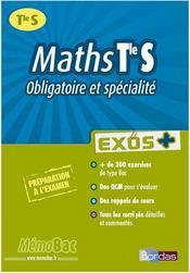 Maths ; terminale S ; obligatoire et spécialité - Intérieur - Format classique