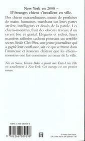 Les Chiens Monstres - 4ème de couverture - Format classique