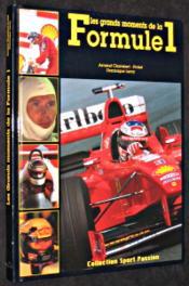 Les Grands Moments De La Formule 1 - Couverture - Format classique