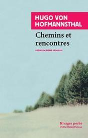 Chemins et rencontres - Couverture - Format classique