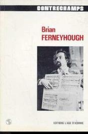 Q8 Brian Ferneyhough - Couverture - Format classique