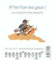 Attention Les Yeux - 4ème de couverture - Format classique