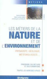 Metiers de la nature de l'environnement 5e edition (5e édition) - Intérieur - Format classique
