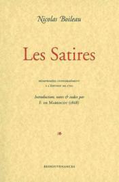 Boileau / les satires - Couverture - Format classique