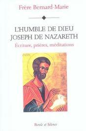 Humble dieu Joseph de Nazareth - Intérieur - Format classique