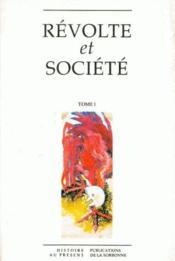 Révolte et société. t.1 - Couverture - Format classique