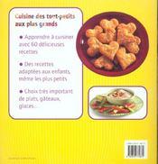 Les petits cuisiniers - 4ème de couverture - Format classique