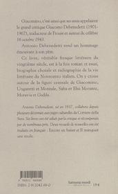 Giacomino - 4ème de couverture - Format classique