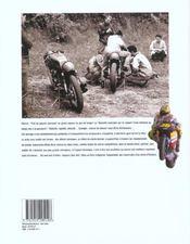 La grande histoire de la vitesse moto - 4ème de couverture - Format classique