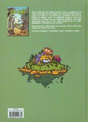 Odyssee du temps t1 l'ile verte - 4ème de couverture - Format classique