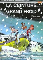 Les aventures de Spirou et Fantasio T.30 ; la ceinture du grand froid - Intérieur - Format classique