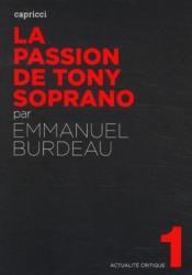 Actualite Critique T.1 ; La Passion De Tony Soprano - Couverture - Format classique