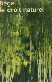 Le Droit Naturel. Collection : Idees N° 255 - Couverture - Format classique