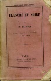 Blanche Et Noire - Couverture - Format classique