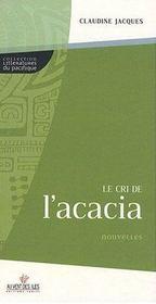 Le cri de l'acacia - Intérieur - Format classique