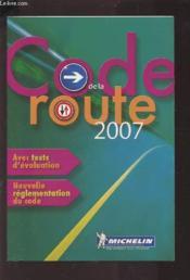 Code de la route 2007 - Couverture - Format classique