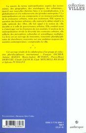 La Metropolisation ; Croissance Diversite Fractures - 4ème de couverture - Format classique
