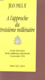 Tertio Milenario - A L'Approche Du 3e Millenaire - Couverture - Format classique