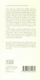 Constat D'Accident Et Autres Textes - 4ème de couverture - Format classique
