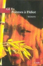 Poèmes à l'idiot - Intérieur - Format classique