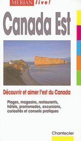 Canada De L'Est - Couverture - Format classique