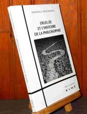 Deleuze et l'histoire de la philosophie - Couverture - Format classique