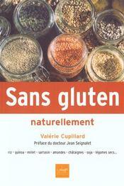 Sans gluten naturellement - Intérieur - Format classique