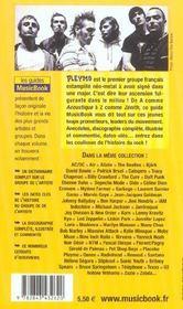 Pleymo De A A Z - 4ème de couverture - Format classique
