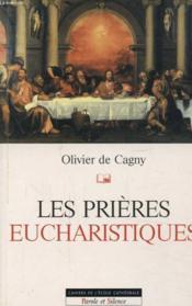 Les prieres eucharistiques - Couverture - Format classique