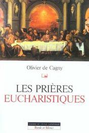 Prieres eucharistiques - Intérieur - Format classique