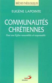 Communautes chretiennes - Intérieur - Format classique
