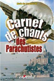 Carnet de chants des parachutistes - Intérieur - Format classique
