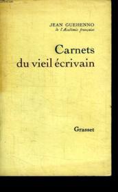 Carnet Du Vieil Ecrivain. - Couverture - Format classique