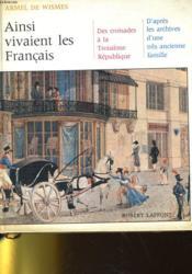 Ainsi Vivaient Les Francais - Couverture - Format classique
