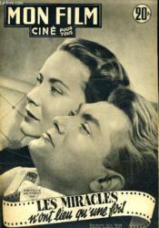 Mon Film N° 268 - Les Miracles N'Ont Lieu Qu'Une Fois - Couverture - Format classique