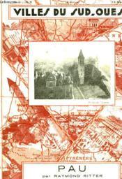 Villes Du Sud-Ouest Pau - Couverture - Format classique